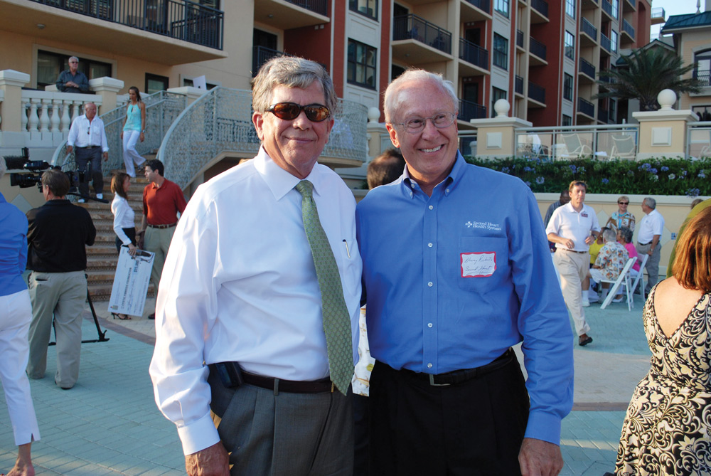 Roger Hall, Henry Roberts (Sacred Heart Foundation) charity begins at home children's advocacy center