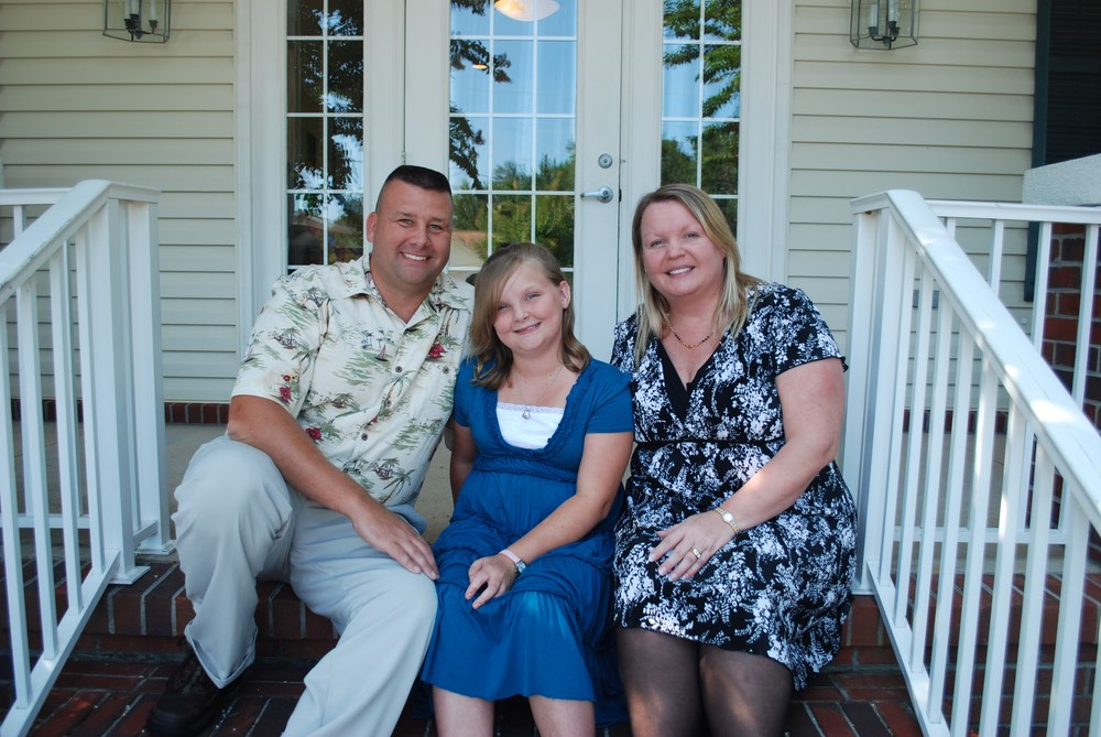 Jeff, Katelyn, and Christie Pendleton charity begins at home children's advocacy center