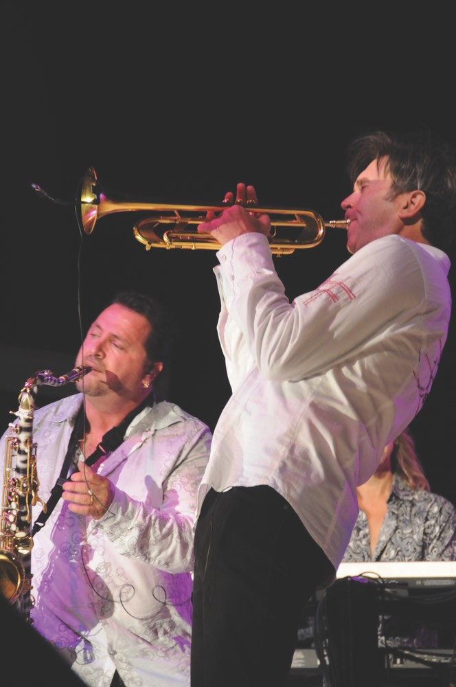 Richard Elliot & Rick Braun vie magazine 10th annual seabreeze jazz festival smooth jazz