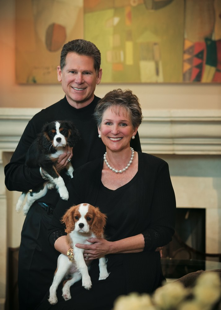 Bill and Elizabeth Campbell Owners of McCaskill & Company