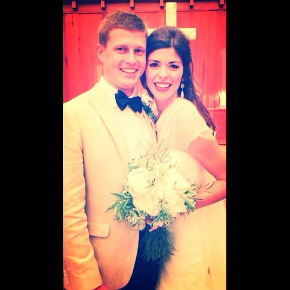 VIE cover girl Darby Kellum wed Will Kilpatrick at the Seaside Chapel on Saturday, November 22, 2014.