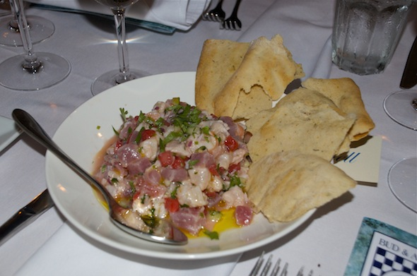 Delicious Beach House Ceviche