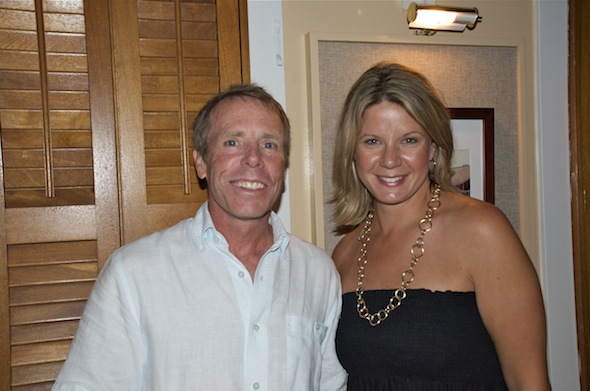 Bud & Alleys founder/owner Dave Rauschkolb and Food for Thought founder Tiffanie Shelton