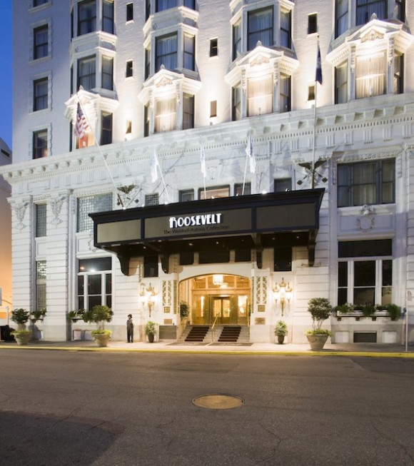The stunning Roosevelt New Orleans. Photo courtesy of The Roosevelt.
