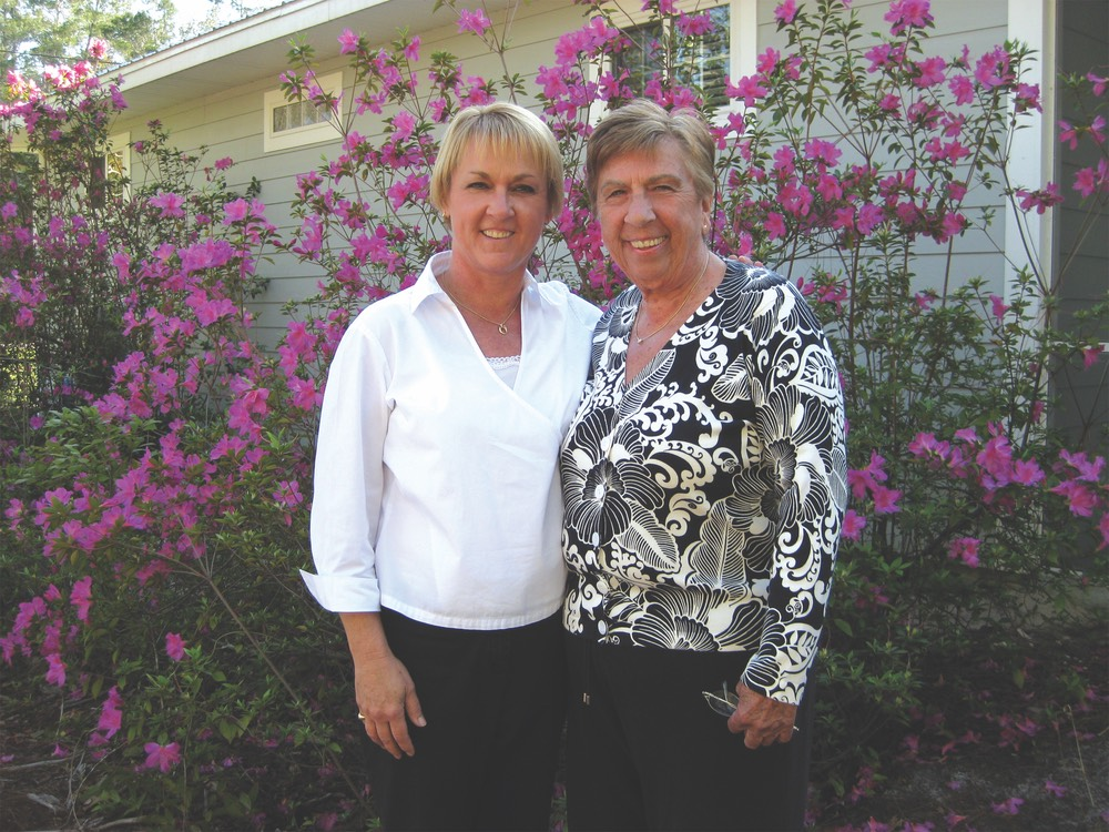Lisa Comeau with mother, Phyllis vie magazine a tribute to mothers mother's day