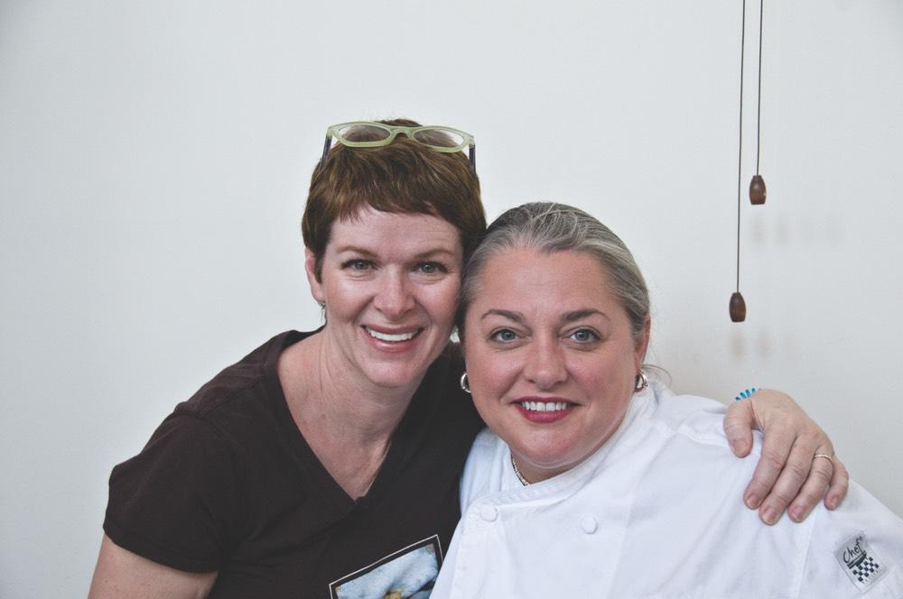 Virginia Willis with Kim Jameson vie magazine