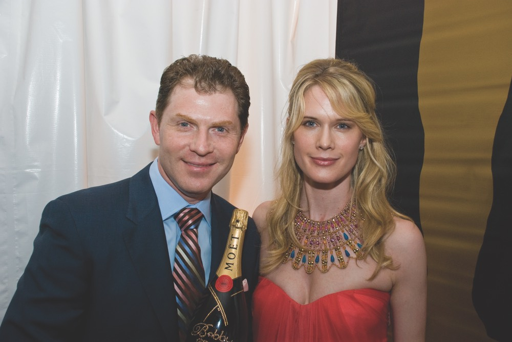 Bobby Flay & Stephanie March host Oscar night at Paris Theatre