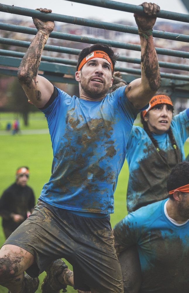 Crossfit mud running