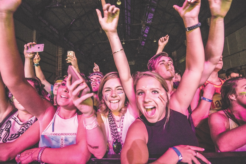 Fans at Sloss Music Fest 2015