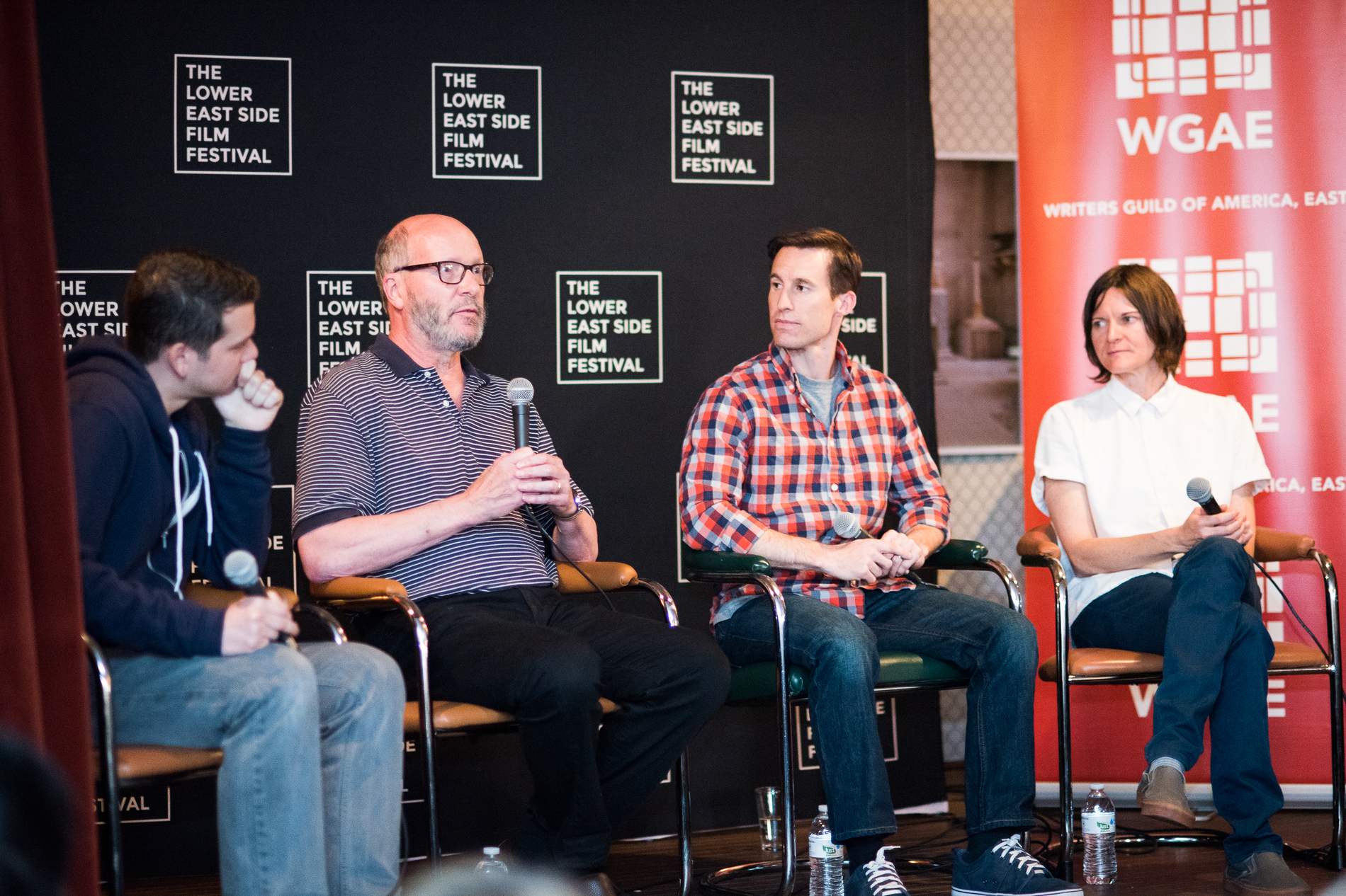 Filmmakers panel at NYC Lower East Side Film Fest