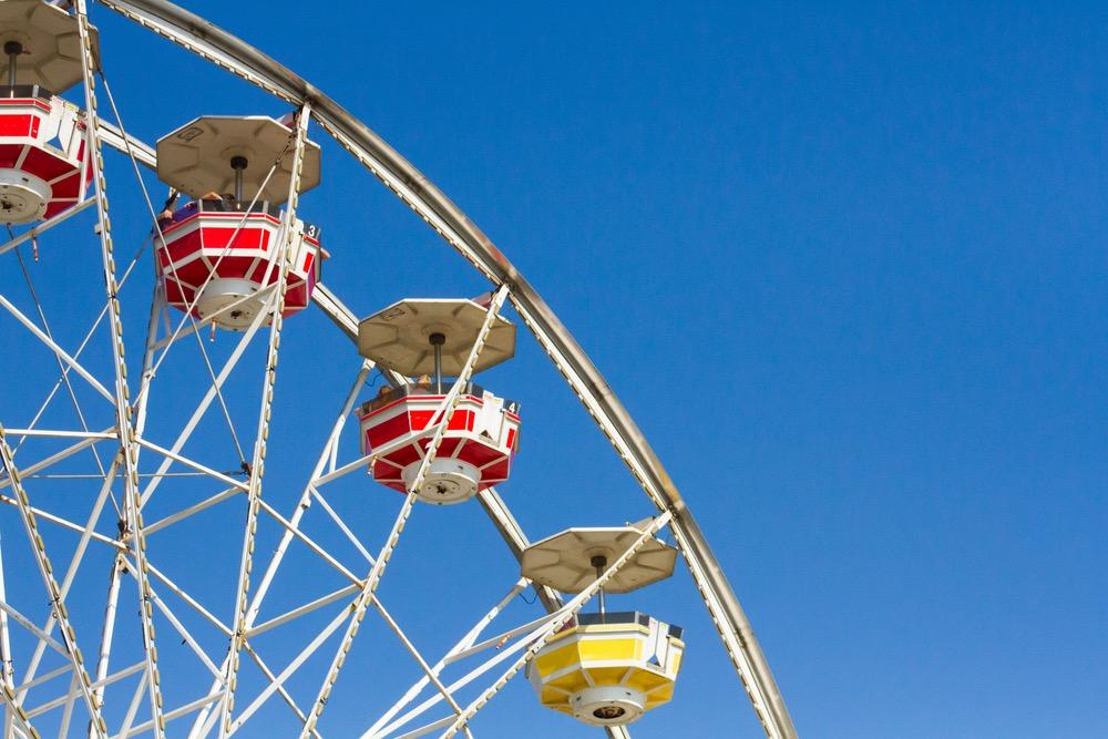 Ferris Wheel at Hangout Music Festival 2016 Gulf Shores AL