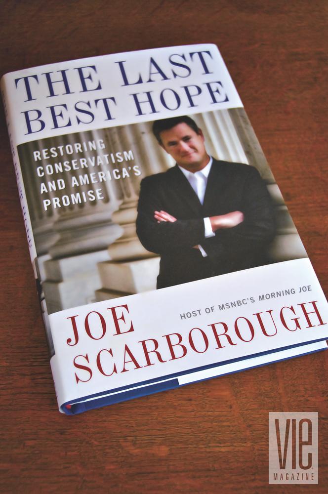 joe scarborough book the last best hope msnbc pensacola florida