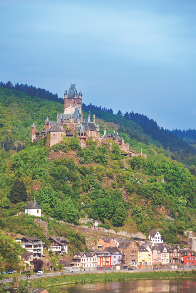 Reichsburg Cochem Cochem, Germany Castle Hometown Architecture