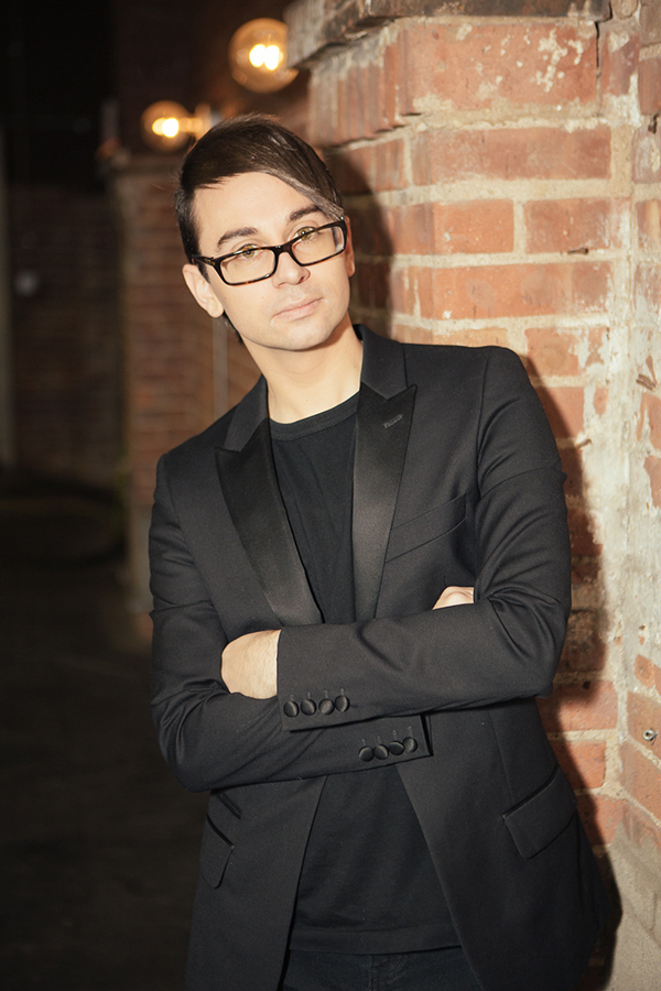 Celebrity Fashion Designer and CFDA Member Christian Siriano