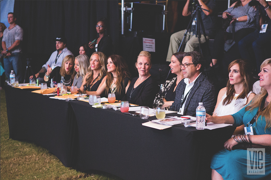 Last year's South Walton Fashion Week judging panel; Photo by Romona Robbins Reynolds