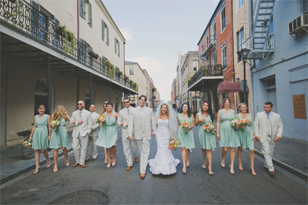 Ryan Manthey photograph of wedding party in New Orleans Pure7 Studios
