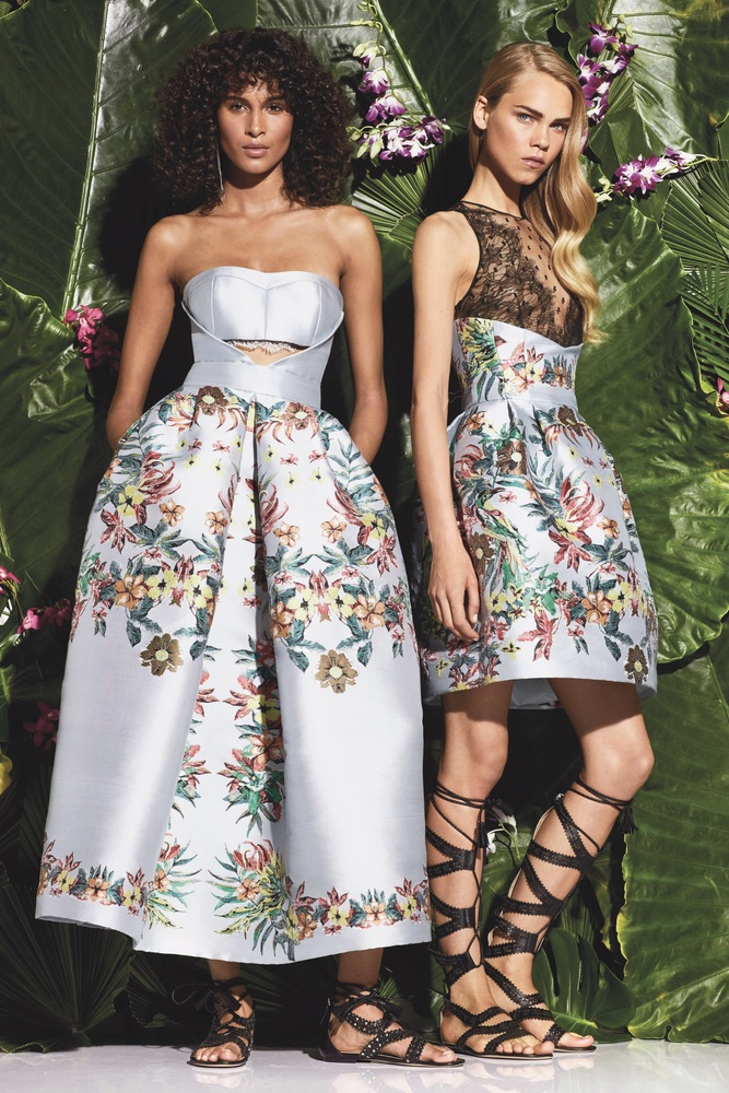 C'est La VIE Curated Collection Enchanted Garden Party Zuhair Murad Resort 2017, Look 30