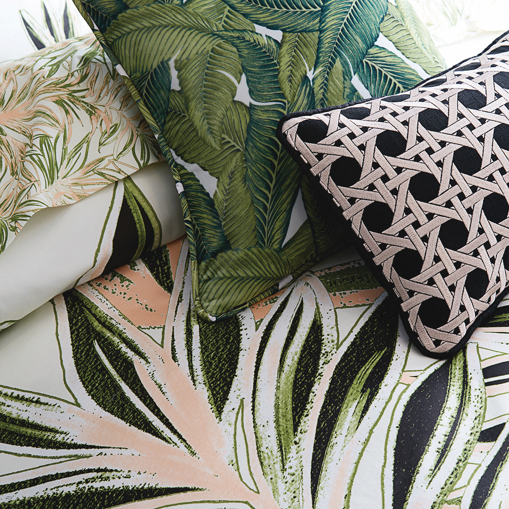 Christian Siriano and Brad Walsh Connecticut Home Bed Bath and Beyond floral print design interior