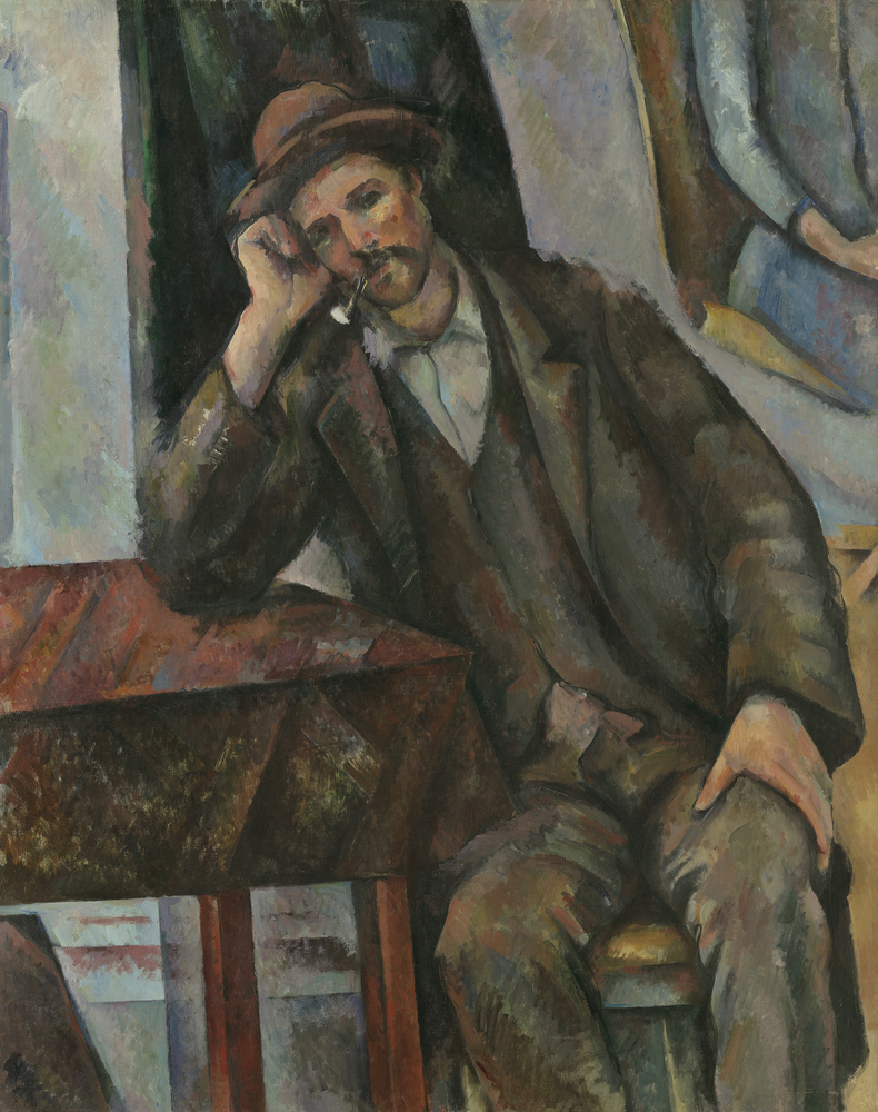 Paul Cézanne, L'Homme à la pipe, 1890-1892. Courtesy Pushkin Museum, Moscow Louis Vuitton Icons of Modern Art: The Shchukin Collection