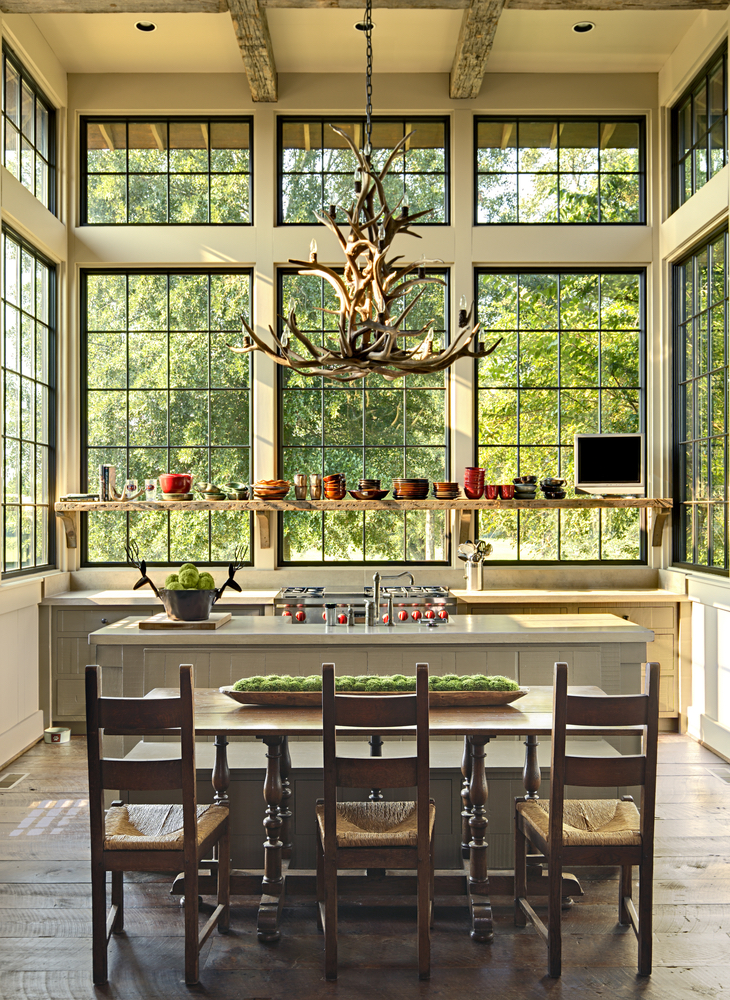 Jeff Dungan Architecture farm house kitchen design architect