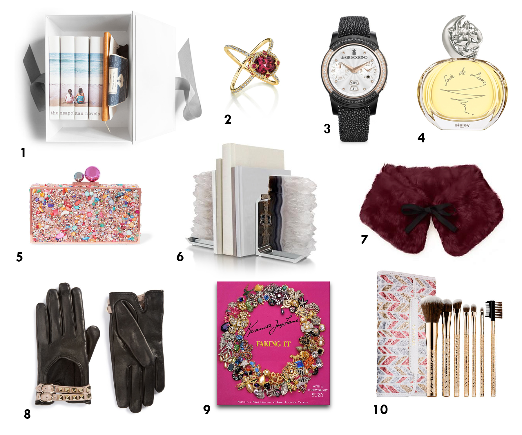 Holiday Gift Guide C'est La VIE 2016 Women
