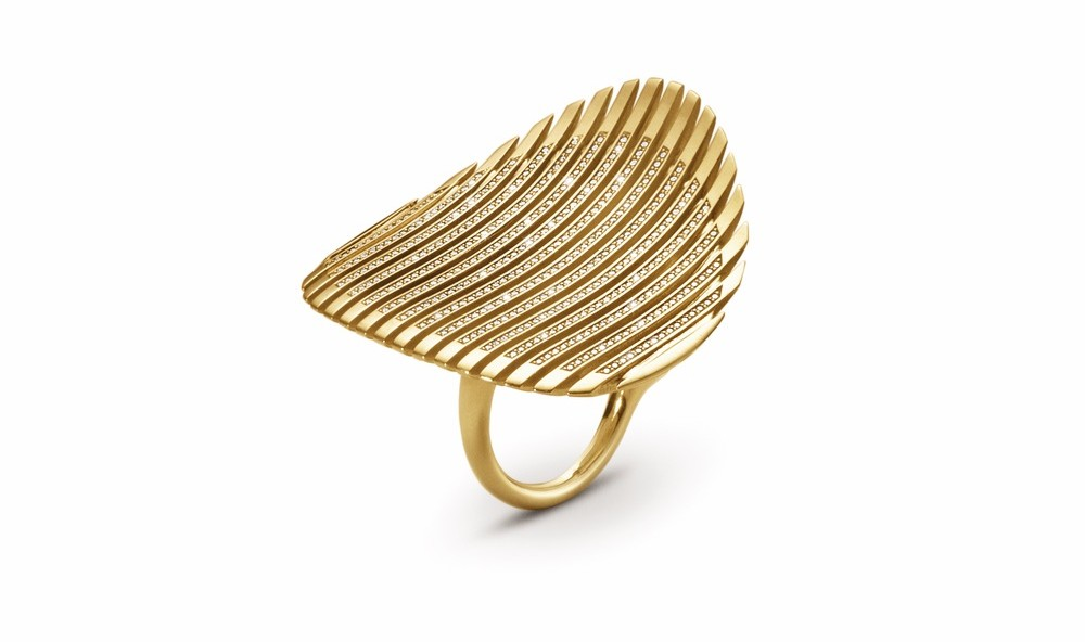 Zaha Hadid Lamellae Ring luxurious jewelry cest la vie the sophisticate 2016