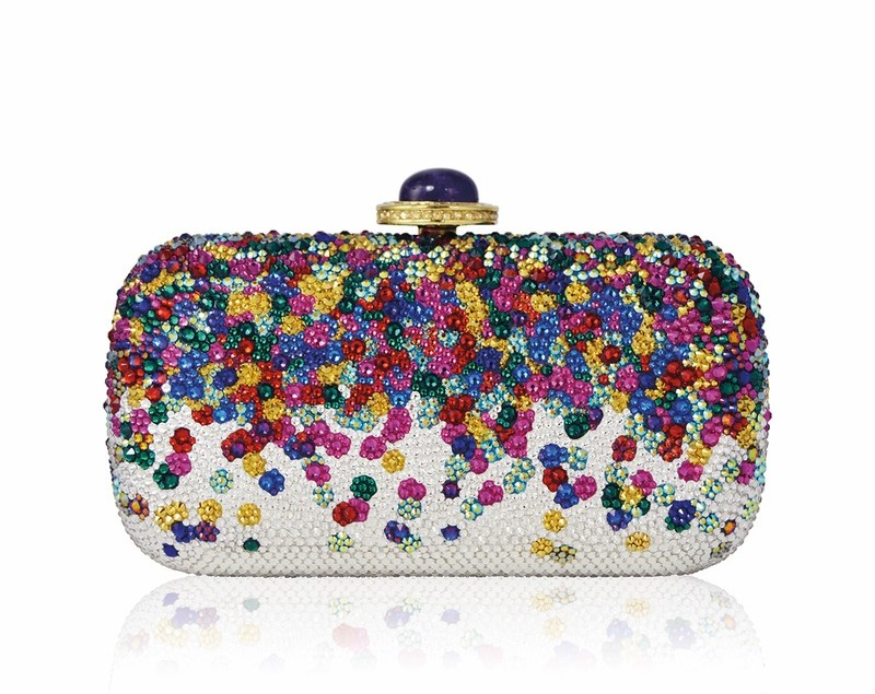 soap dish confetti crystal clutch bag by judith leiber couture cest la vie the sophisticate 2016