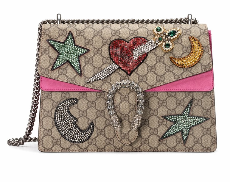 Dionysus Embroidered Shoulder Bag by Gucci luxury handbag cest la vie sophisticate 2016