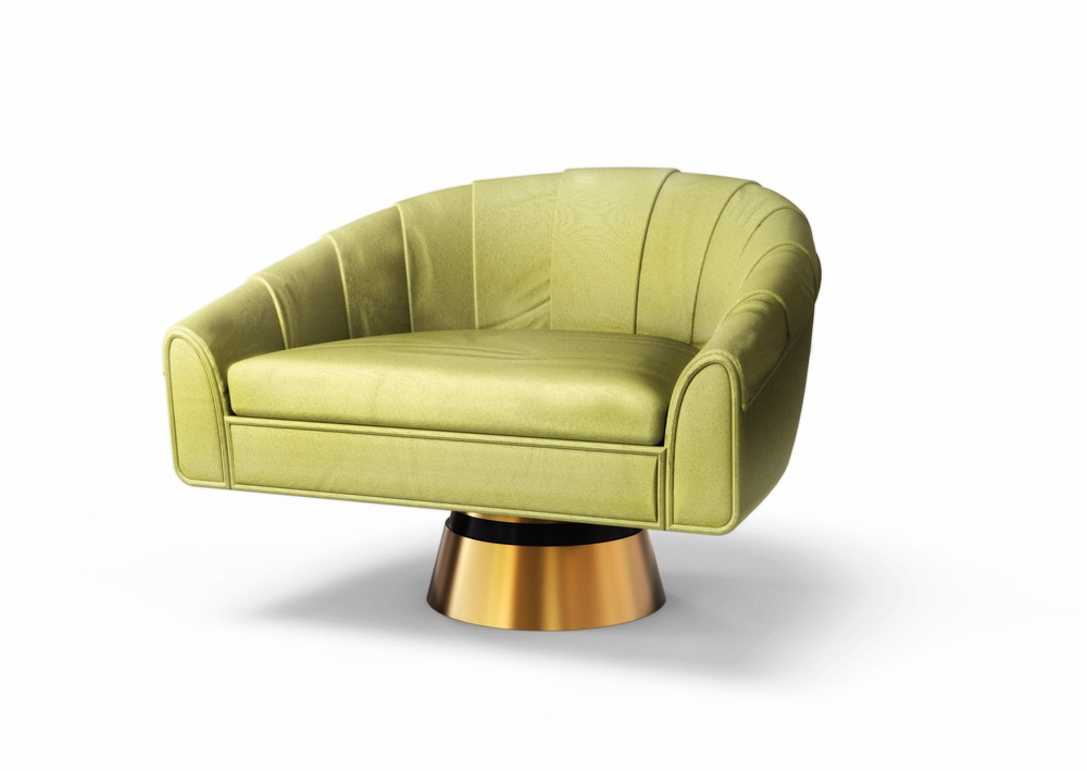 Betania Armchair modern furniture green chair cest la vie the sophisticate 2016