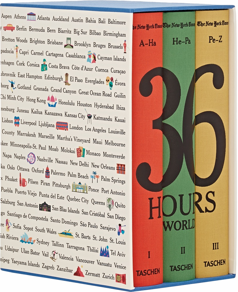 The New York Times 36 Hours World by Taschen books cest la vie sophisticate 2016
