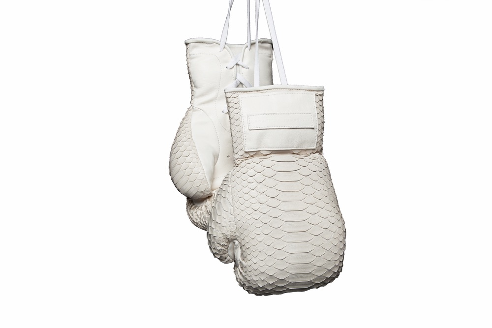 manila bone matte snakeskin boxing gloves cest la vie the sophisticate 2016 curated collection