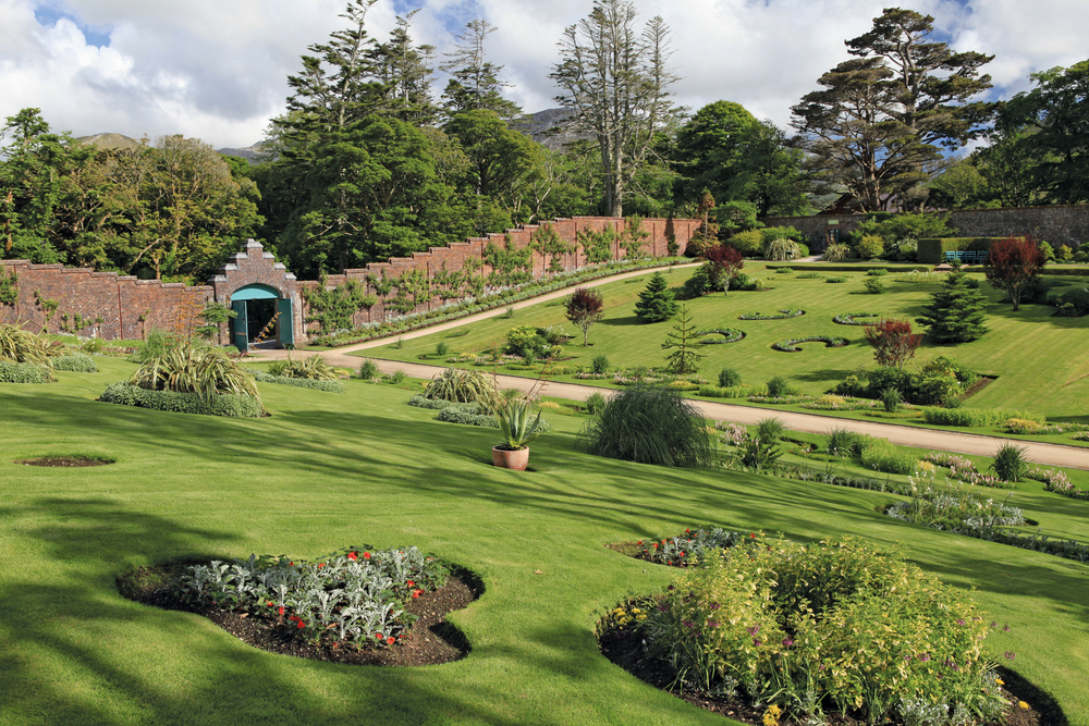 Victorian Walled Gardens at Kylemore Abbey Western Ireland Connemara Life 2016