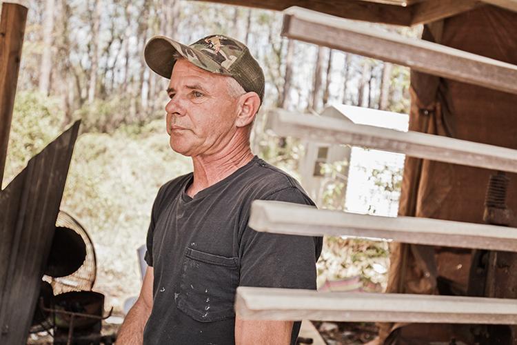 Gulf Coast oysterman and blacksmith Rodney Richards