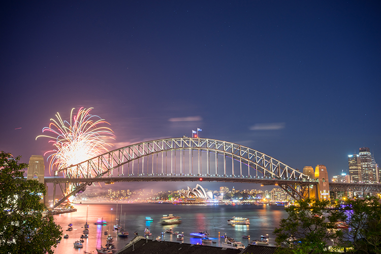 Sydney Australia New Years Eve Celebration