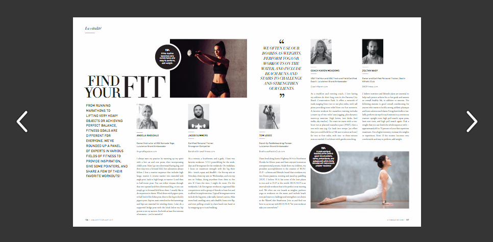Read VIE magazine 2017 Health and Beauty Issue Online Now