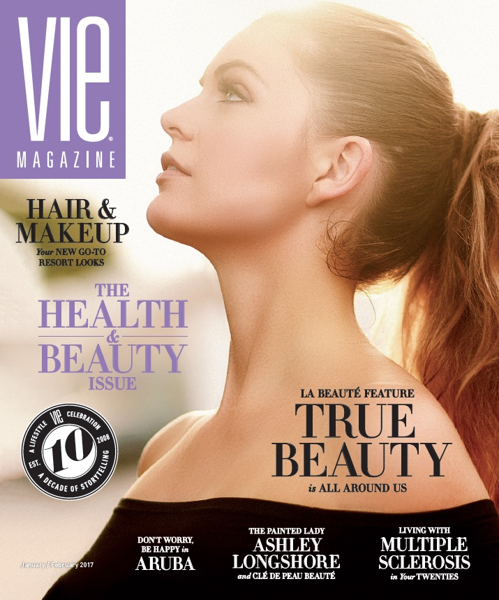 VIE Magazine Health and Beauty Issue 2017 Cover with Brooke Miller by Sohail Chouhan