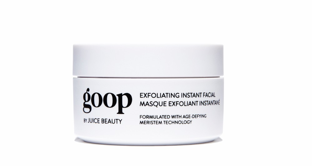 Goop by Juice Beauty Exfoliating Instant Facial Cest la VIE health and beauty