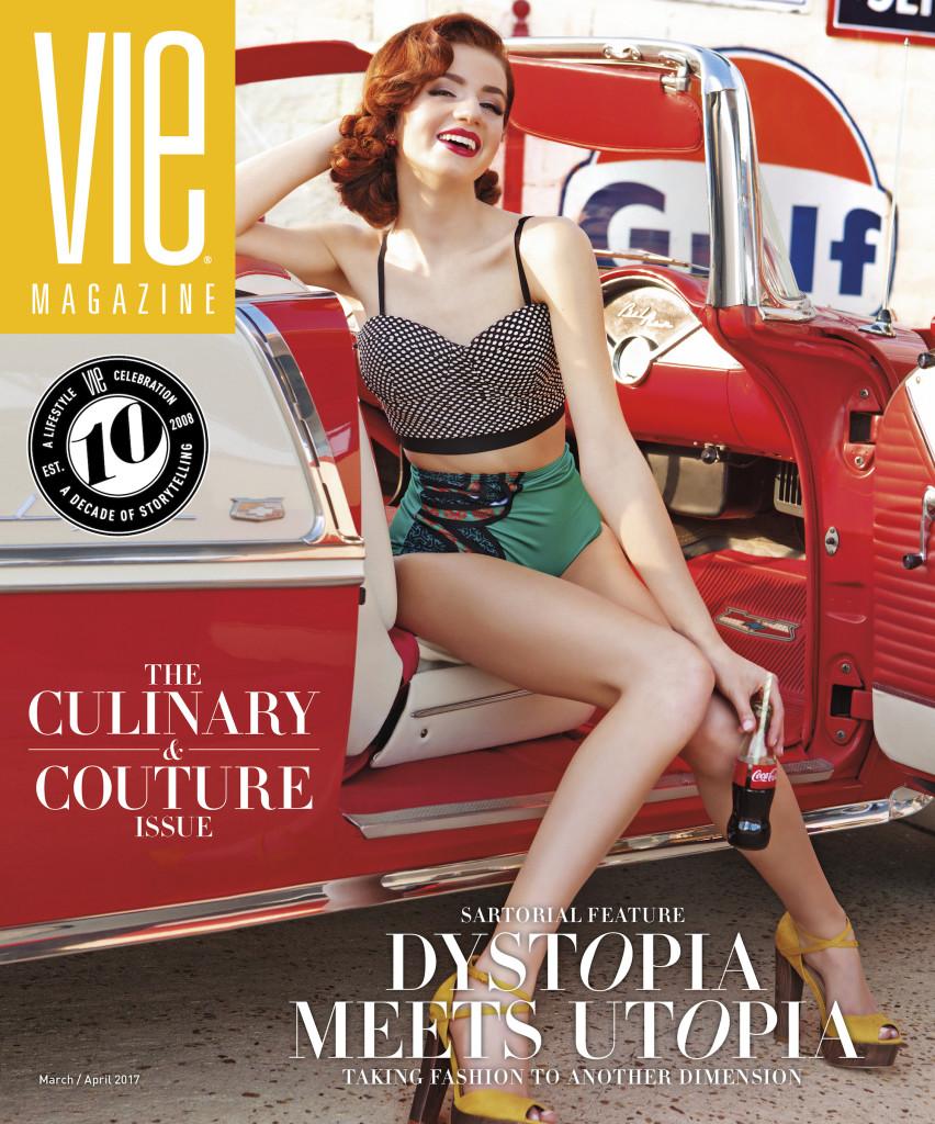 VIE magazine 2017 March-April Cover South Walton Fashion Week