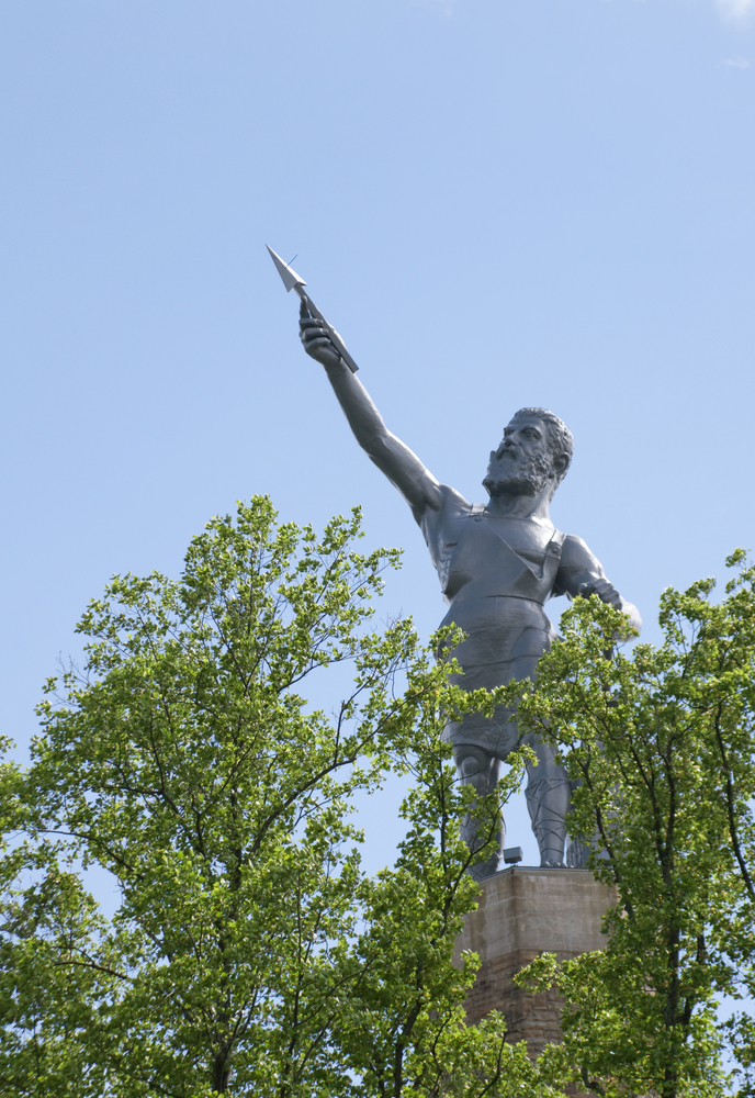 The Vulcan statue atop Red Mountain in Birmingham Alabama Travel Guide
