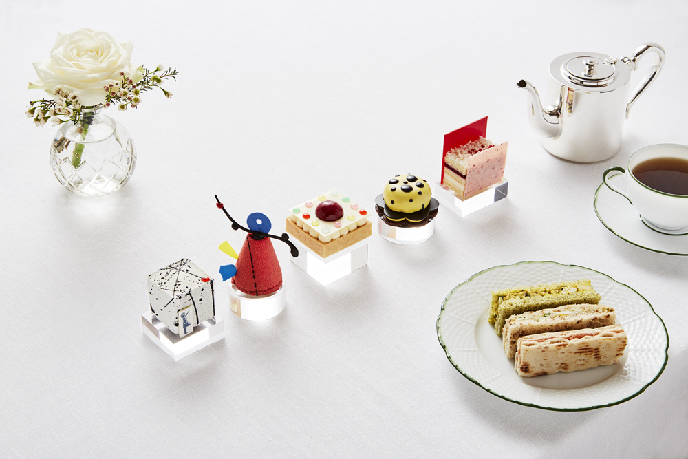 Rosewood London Art Afternoon Tea, C'est la VIE Culinary and Couture