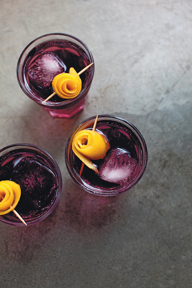 Sparkling Ice Cocktail Recipes, Grape Vanilla Mocktail