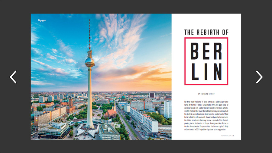 The Rebirth of Berlin from VIE's 2017 Voyager Issue ISSUU