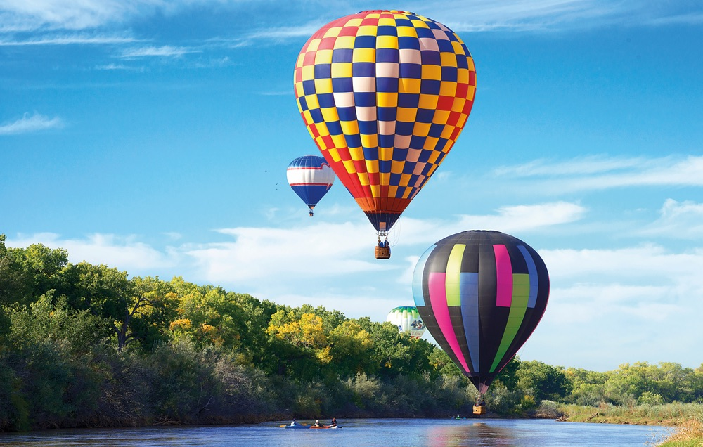 Hot Air Balloon; Rio Grande