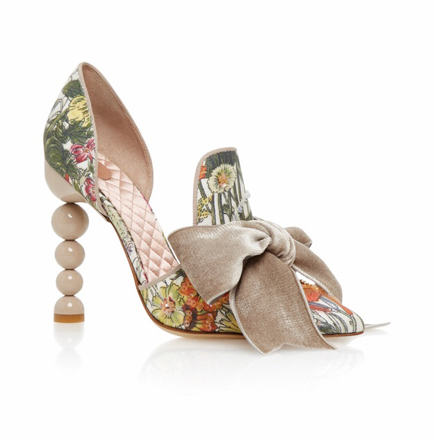 Tory Burch Floral Clara Pumps; C'est la VIE Curated Collection