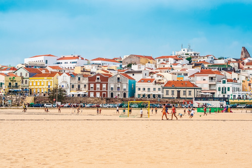 The beach at Figueira da Foz