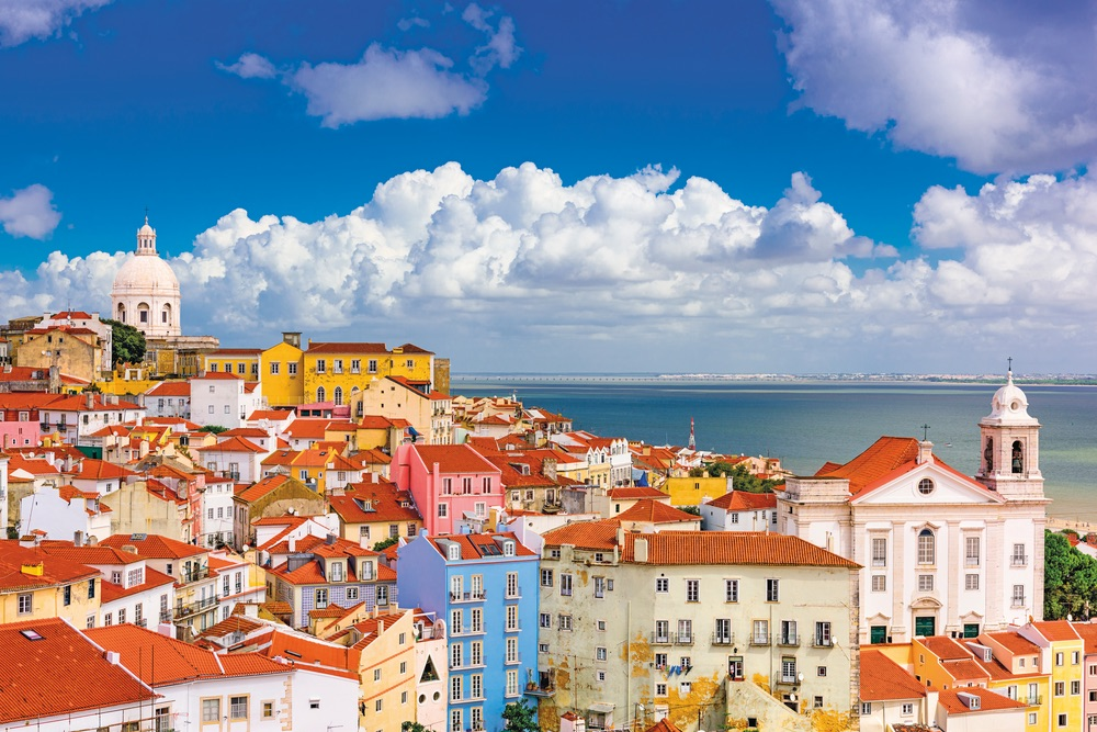 The Alfama district of Lisbon