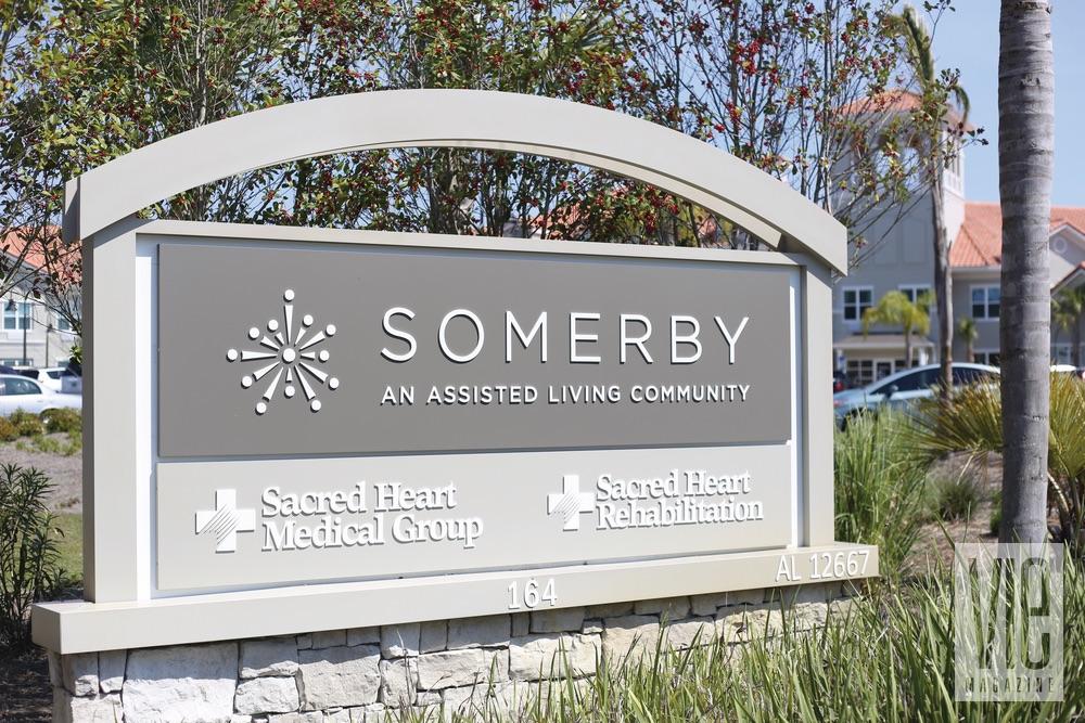 Somerby; Santa Rosa Beach; signage