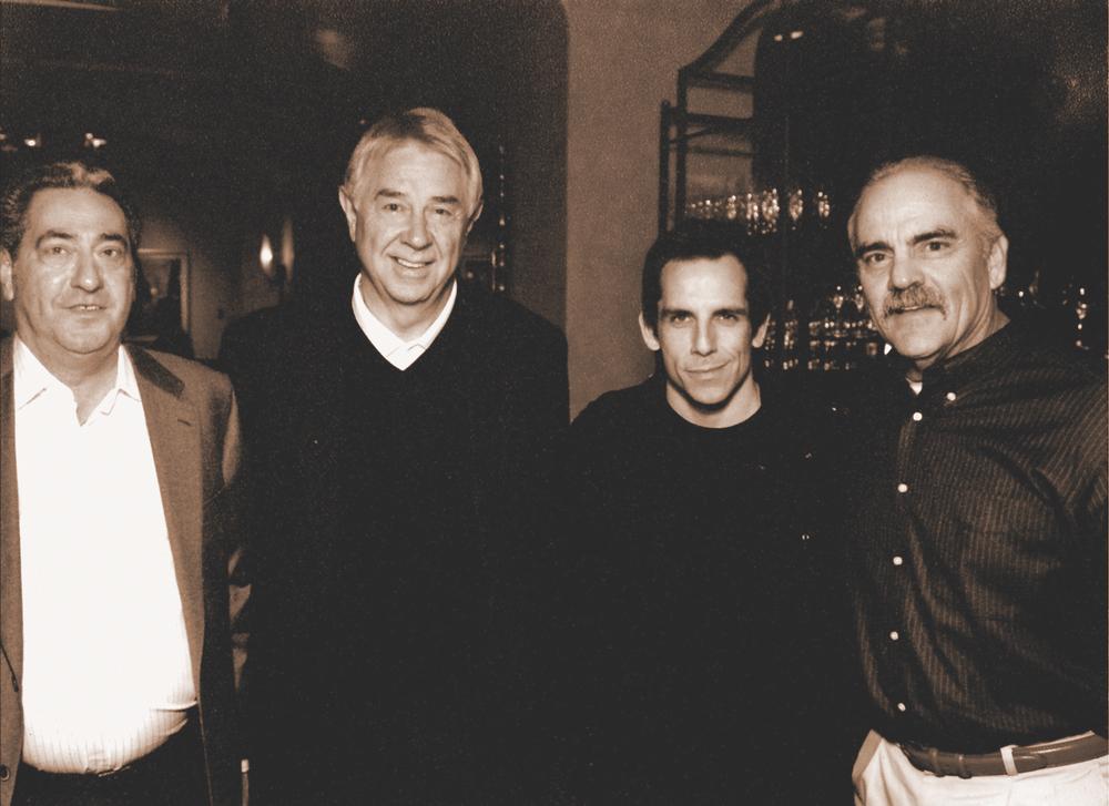 George Solomon; Jim Tharpe; Ben Stiller; Emmet Nicaud