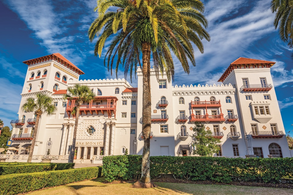 Casa Monica Hotel in St. Augustine, FL.