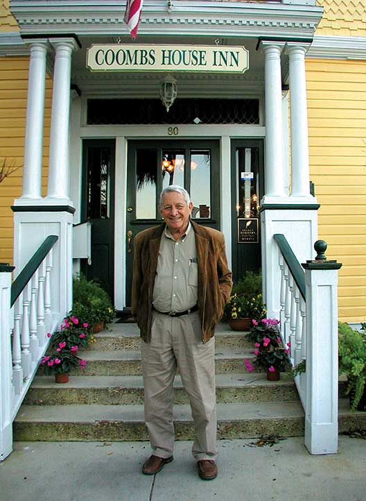 Bill Spohrer in Apalachicola